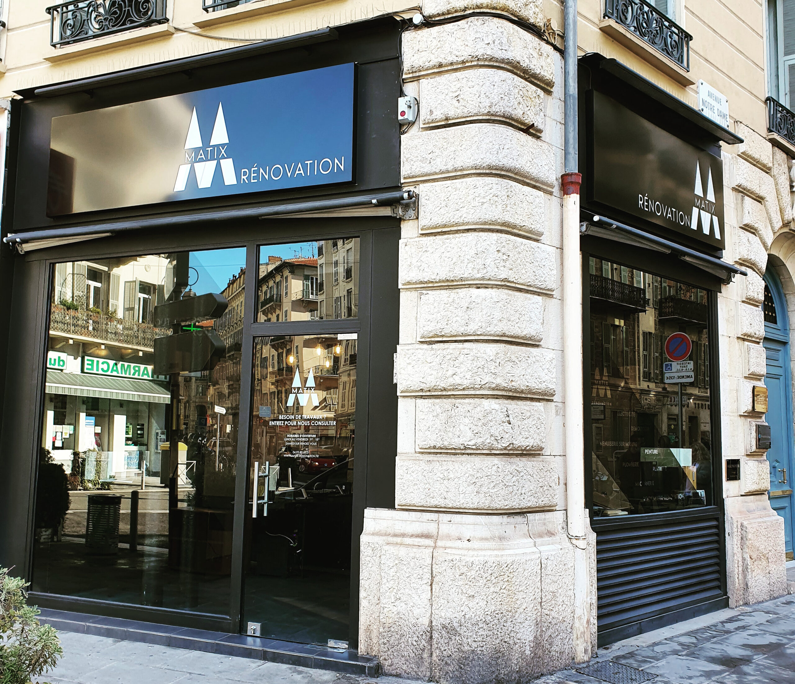 Matix rénovation Nice & Paris
